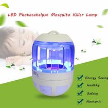 Atrai E Mata Mosca Elétrico Mosquito Dengue Inseto Led Roxo