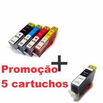 Kit 5 Cartuchos 670xl Hp Ink Advantage 3525 4615 4625 5525