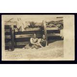 Argentina - Mar Del Plata 1910 Muelle De Madera Foto Postal