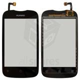 Cristal Táctil Para Celular Huawei U8666 Ascend Y201, Negro