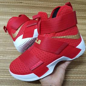 Tenis Zapatillas Botas Nike Lebron Soldier 10 Hombre