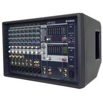 Mesa De Som Amplificada Yamaha Emx312sc 600w - 12 Canais