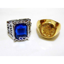 Cosplay Kit 2 Anillos Ciel Phantomhive Anime Black Butler
