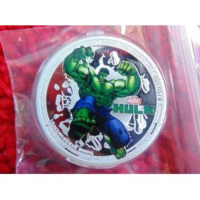 Hulk Linda Moeda Comemorativa, Coin Hulk Avengers