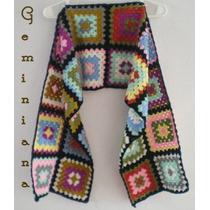 Bufanda Tejida Crochet
