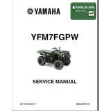 Libro Servicio Moto 4 Ruedas 4x4 Cuatrimoto Yamaha Grizzly