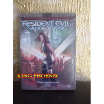 Resident Evil 2 Apocalipsis Terror 100% Original Movie Dvd