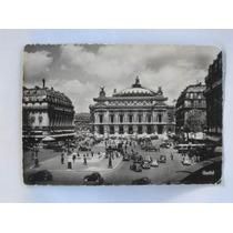 Postal, Fotografia Antigua, Palacio De La Opera Paris,
