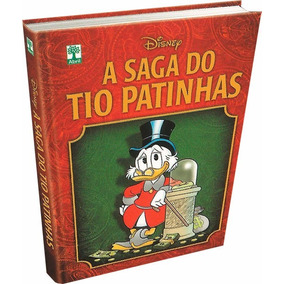 A Saga Do Tio Patinhas, Capa Dura, 388 Páginas,novo + Brinde