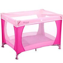 Berço Portátil Angel Pink Burigotto