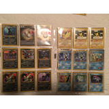 Lote Cartas Pokemon D Base Set A Neo Todo Junto O X Separado