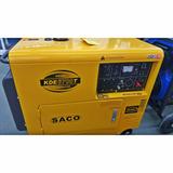 Generador Diesel Insonorizado 5000w Marca Saco