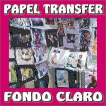 Papel Transfer Claro Stahl Para Playeras Mil Hojas Carta