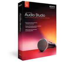 Software Edicion Grabacion Sony Sound Forge Audio Studio
