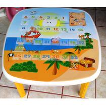 Mesa Infantil Para Niños - Sillas De Plastico