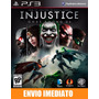 Injustice Gods Among Us Ultimate Edition - Ps3 - Português