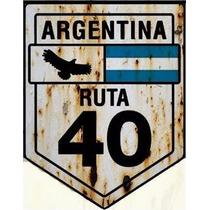 Carteles De Chapa Antigua Y Personalizadas De 30 X40cm