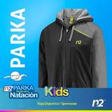 Parkas Natación Kids Abrigos Natación, Chamarra N2