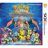Juego Pokemon Super Mystery Dungeon 3ds Para Nintendo 3ds