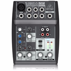 Mesa Behringer Xenyx 502 Mixer 220v Frete Grátis