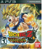 Dragon Ball Z Ultimate Tenkaichi Ps3 Nuevo Original Sellado