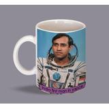 Espacio Primer Cosmonauta Indio En El Espacio Taza Unica