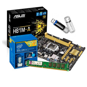 Actualizacion Pc Intel Core I5 4gb + Pendrive 32gb