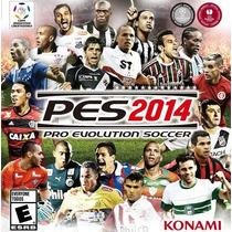 Pro Evolution 2014. Pes14 100% Em Português Mídia Física Ps3