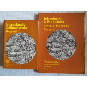 * Livro Introdução A Economia Teoria E Exercicios Rossetti