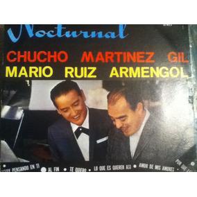 Disco Acetato De: Chucho Martines Gil & Mario Ruiz Armengol
