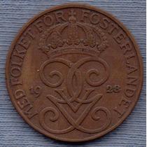 Suecia 5 Ore 1928 * Gustaf V *
