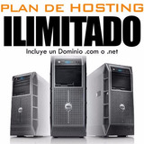 Hosting Y Dominios - Plan De Hosting Ilimitado + Dominio.com