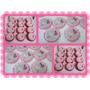 Topper Adornos P/ Cupcakes Tortas Baby Shower Bautism Nacim