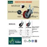 Rodas E Rodízio Para Andaimes - Preço De Fábrica