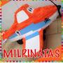 Piñata 3d Aviones Dusty, Super Wings Jett, Little Pony,avión