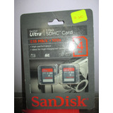 Targeta De Memoria Sdhc 4 Gb Marca Sandisk Importado De Usa