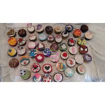Cupcakes Decorados / Por 12 U. / Lauacu