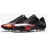 a001b53f0 Botines Nike Mercurial Negros Cr7 - Botines Con Tapones para Adulto ...
