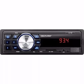 Mp3 Player Automotivo Multilaser One Usb Sd Radio Fm Aux