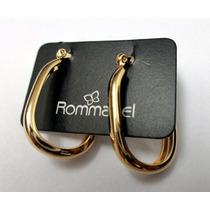 Brinco Argola - Semi-jóia Rommanel - Folheado