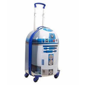 Malinha Star Wars Robo R2d2 Rodinha Lançamento 2017 Sestini