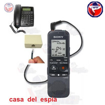Grabadora 900hr Llamadas Telefonica Espia Oculta Automatica