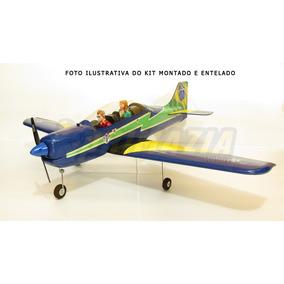 Kit Aeromodelo Tucano 130cm Asa Baixa Isopor Depron Cnc