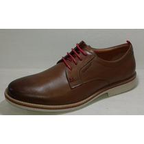 Zapato Vestir Cuero Cordón Abotinado Urbano Hombre Stork Man