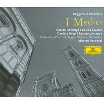 Leoncavallo : I Medici - Domingo & Dessí - Edición 2 Cds