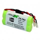 Bateria Telefone Sem Fio 2,4v 600mah Aaa Flex Fx-70u Ts40 Id