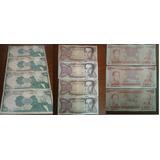 Combo De Billetes De 5, 20, 50 Y 100 Bolívares Antiguos