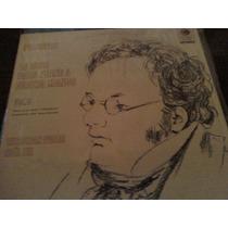 Disco Acetato De Schubert La Obra Para Piano A 4 Manos
