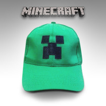 Gorra Minecraft Creeper Ajustable