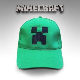 Gorra Minecraft Creeper Ajustable